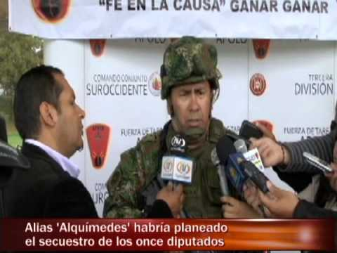 Guerrillero que planeó secuestro de diputados