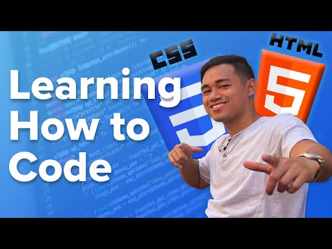 Learning How To Code HTML & CSS For Beginners - Journey Part 1