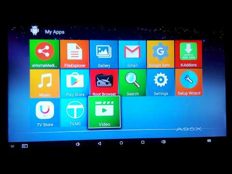 Alfawise A95X R1 TV Box running android 5