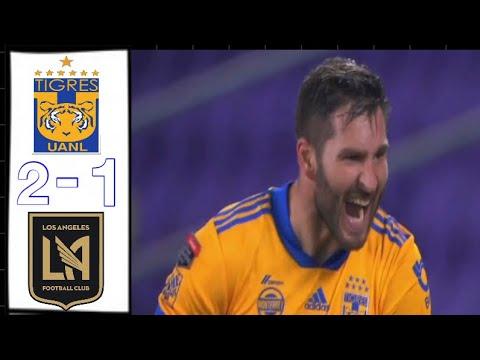 Tigres vs Los Angeles FC 2-1 Resumen y Goles Final 22/12/20