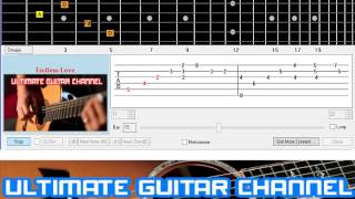 [Guitar Solo Tab] Endless Love (Lionel Richie & Diana Ross)