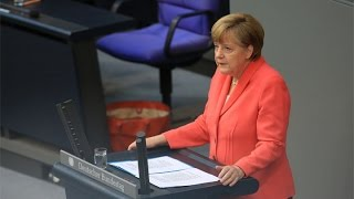 Angela Merkel Calls on Europe to Unite on Migration Crisis