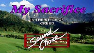 Karaoke Creed - My Sacrifice