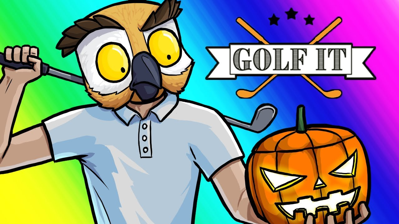 Golf-It Funny Moments - Trick Shots and Scythes!