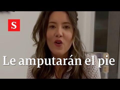 'El milagro es mi vida': Daniella Álvarez revela que le amputarán un pie | Video Semana