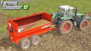 Rozrzutnik z wyrzutem bocznym - Farming Simulator 17 | #52