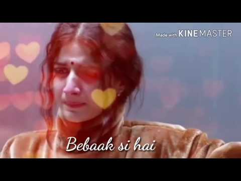 Haal E Dil Mera Female | Sanam Teri Kasam | Unique Whatsapp Status/by #creativityadda