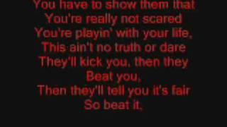 Beat It by Michael Jackson Lyrics