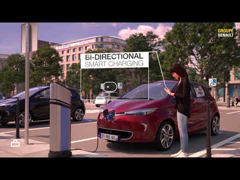 Groupe Renault starts piloting vehicle-to-grid charging