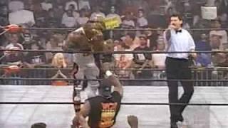 (8.4.1997) Road to RW '97 Part 10 - Booker T vs. Vincent
