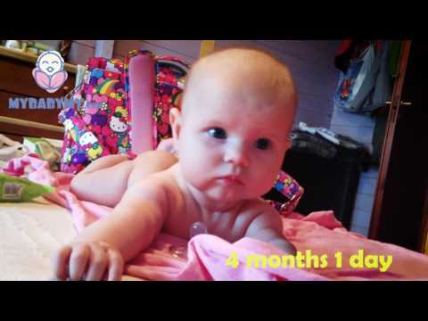 A baby's first year in 46 seconds (baby time laps video) | mybabymy movie