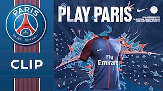 HOME SHIRT 2017 - 2018 - PARIS SAINT-GERMAIN