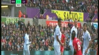 فيرمنيو يتعادل لليفربول أمام سوانزي سيتي .. فيديو