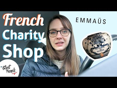Shopping at Charity Shop in Paris