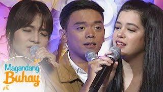 """Magandang Buhay: Sue, Kristel, & Juan Miguel perform """"Wag Na Wag Mong Sasabihin"""""""