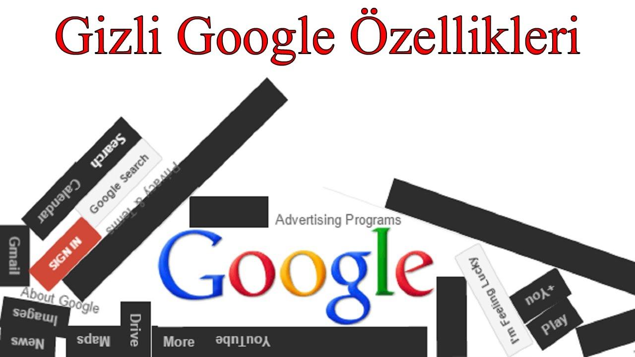 Google'da Kullanmayı Bilmediğiniz 8 Gizli Özellik