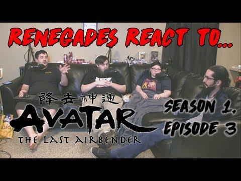 Renegades React to... Avatar: The Last Airbender - Season 1, Episode 3