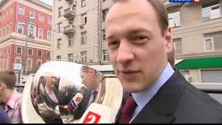 Чествование сборной России █ Парад чемпионов мира 2012