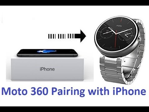 moto 360 with iphone how to pair moto 360 2nd smart with iphone or 15709