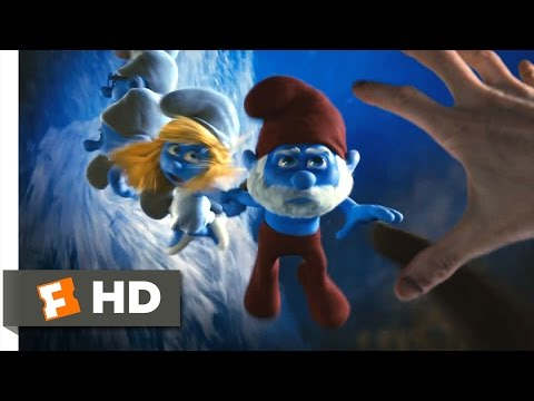 The Smurfs (2011) - Through The Blue Portal Scene (2/10) | Movieclips
