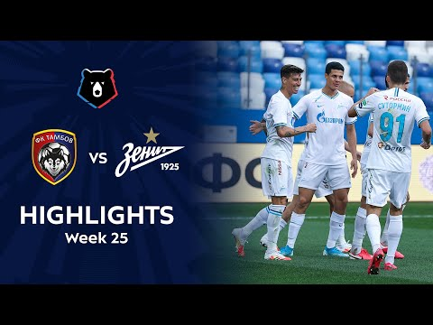 Highlights FC Tambov Vs Zenit (1-2) | RPL 2019/20