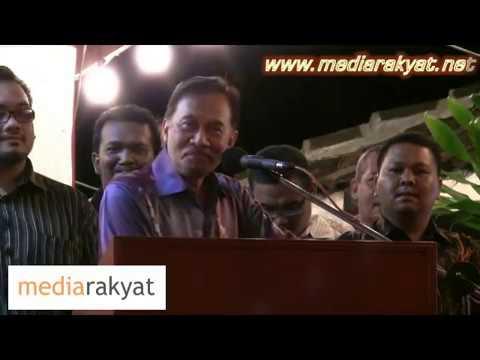 Anwar Ibrahim: Rosmah & Najib Tak Berani Berdepan Dengan Kita