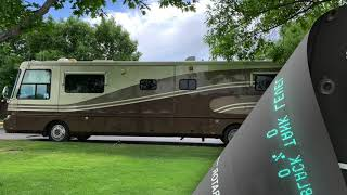 For Sale  2000 Safari Serengeti RV with 2007 Honda CRVEX and Roadmaster Falcon Towing System