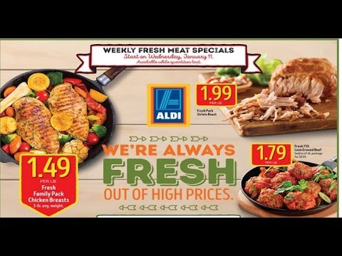 aldi ads this week 2017 weekly ads youtube. Black Bedroom Furniture Sets. Home Design Ideas