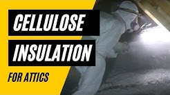 Cellulose Insulation: 5 Reasons To Use It In Your Attic