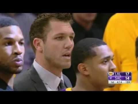 Luke Walton Ejection - Lakers Vs Kings | Dec. 12 2016
