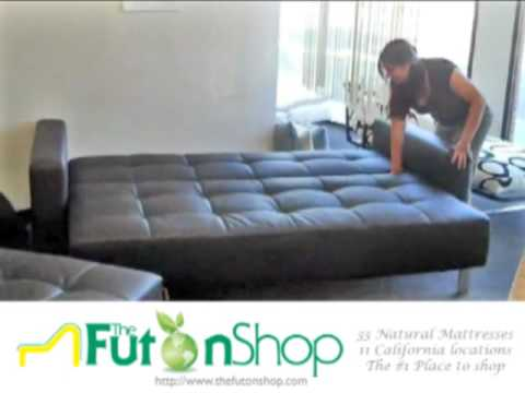Lincoln Park Futon Sofa Bed From The