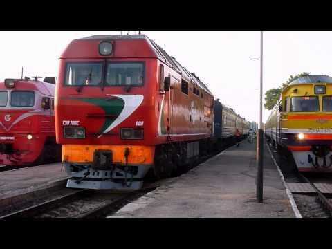 Trains in Daugavpils, Latvia. PART 2, 19.05.2013