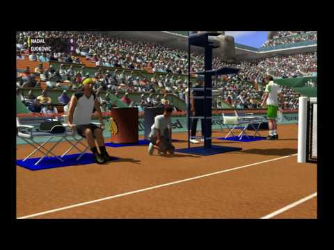 Nadal vs Djokovic | Finale Masters 1000 Rome 2012| Full Ace Tennis Simulator 2012 (Simulation)