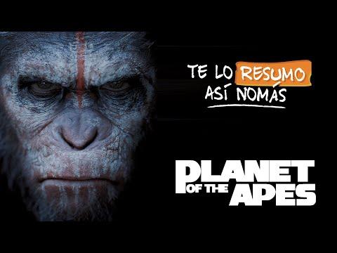 La Trilogía de El Planeta de los Simios   #TeLoResumoAsiNomas 213