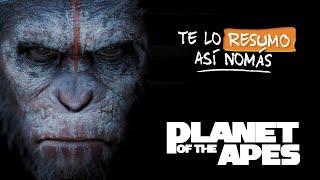 La Trilogía de El Planeta de los Simios | #TeLoResumoAsiNomas 213