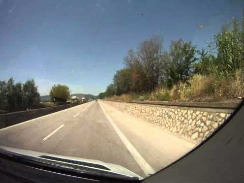 Assisi To Rome, Italy Time-lapse