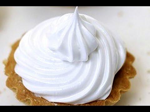 Белковый заварной крем | крем для начинки и украшения тортов, пирожных
