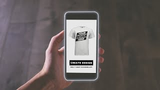 Making T-Shirt Designs On My Phone! Free T-shirt Apps screenshot 4