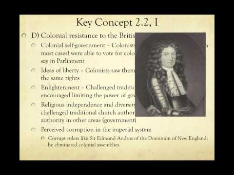 APUSH Review: Key Concept 2.2, Revised (Most up-to-date video)