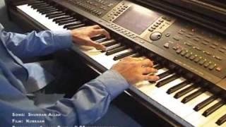 Shukran Allah (Kurbaan) Piano Cover by Aakash Gandhi