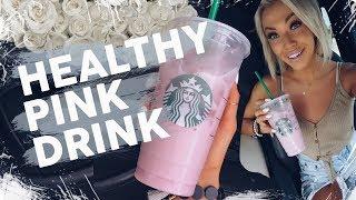 Starbucks 40 Calorie Pink Drink