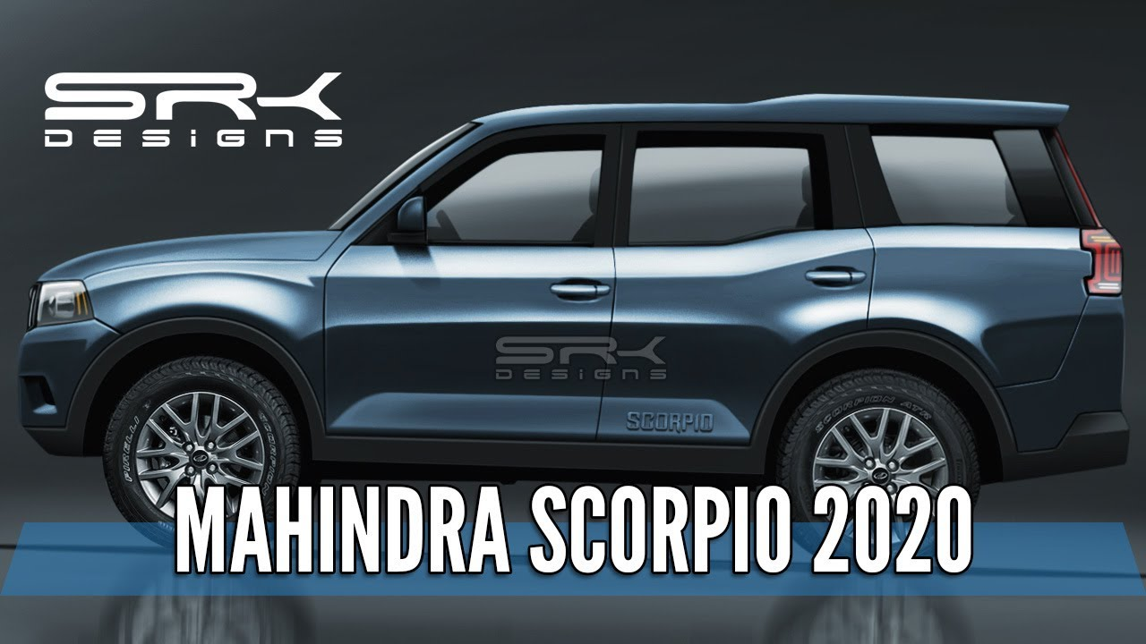Mahindra Scorpio 2020 - Rendering - Making Video | SRK Designs