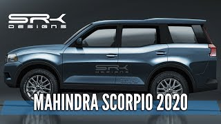 Gambar cover Mahindra Scorpio 2020 - Rendering - Making Video | SRK Designs