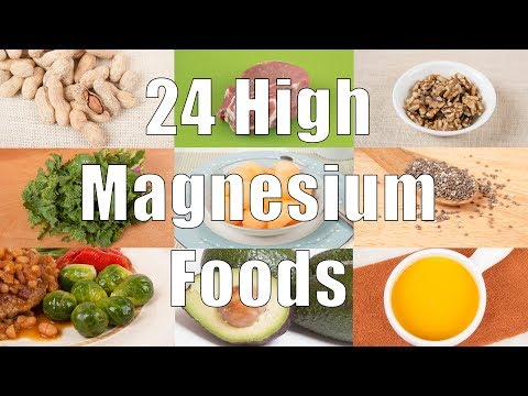 24 High Magnesium Foods (700 Calorie Meals) DiTuro Productions