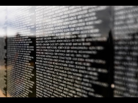 (VIDEO) Hundreds gather at the Vietnam Moving Wall