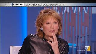 Otto e mezzo - La versione di Carlo De Benedetti (Puntata 17/01/2018)