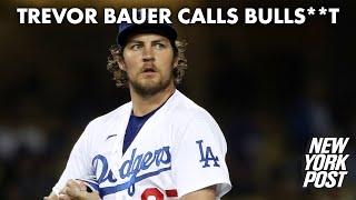 Trevor Bauer bashes MLB 'bulls–t' over midseason cheating crackdown | New York Post