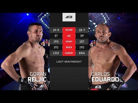 ACA 122: Горан Рельич vs. Карлос Эдуардо   Goran Reljic vs. Carlos Eduardo