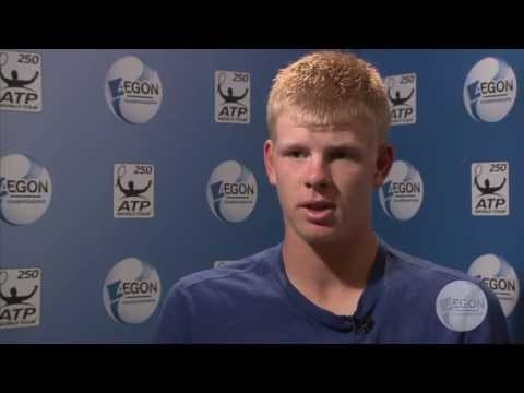 Kyle Edmund interviewed at Aegon Championships
