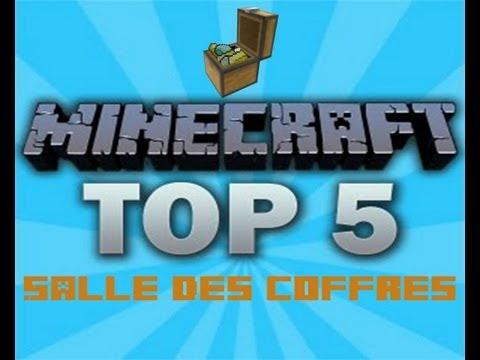 Minecraft : Top 5 Salle des coffres